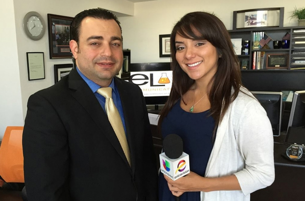 CEO, Will Elkadi TV Interview with Entravision