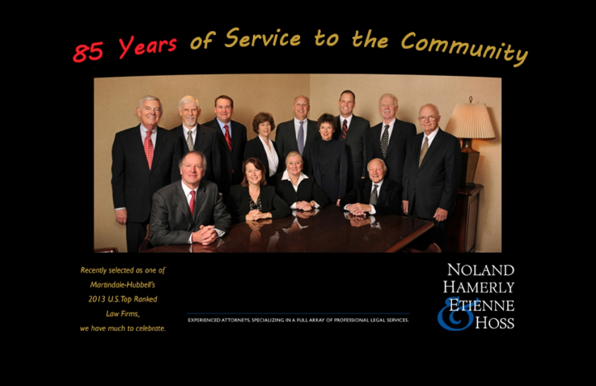 eLab Communications Selected to Redesign the Noland, Hamerly, Etienne & Hoss Website