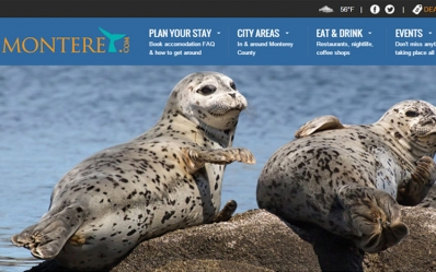 Launched Monterey.com Visitor's Guide